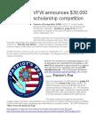 VFW Scholarship Contest