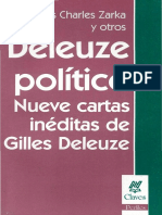 Zarka, Yves (et al.) - Deleuze Político. Nueve cartas inéditas de Gilles Deleuze.pdf