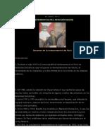 Resumen Del Acta de Independencia Del Peru