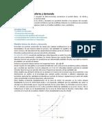 Resumen Oferta y Demanda Microeconomia euba