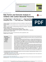Risk Factors and Outcome Analysis in Children With Carbon Monoxide Poisoning