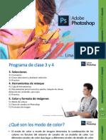 Modulo Adobe Photoshop Clase 3 y 4 - 2018 Lina Rodriguez Facilitador