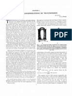 General Considerations of Transmission