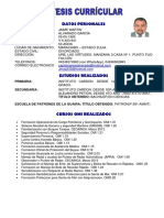 Curriculum Jaime Alvarado (Jaime Alvarado)