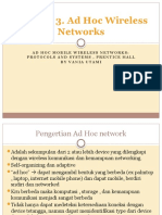 Chapter 3. Ad Hoc Wireless Networks