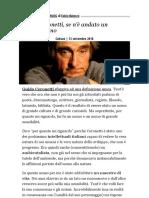 Guido Ceronetti, se n'è andato un grande uomo - Il Fatto Quotidiano