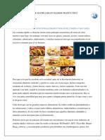 Reflexion Sobre El Consumo de Comida Rapida