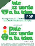 Víctor Vargas Irausquín - Inscripciones de Dale Luz Verde a Tu Idea 2018 Culminaron Con Éxito