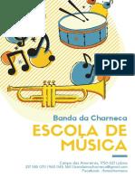 Cartazes Escola Música