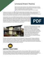 Sekilas Info Tentang Kampung Designer Magelang