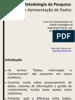Tratamento e apresentação de dados