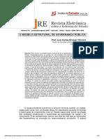 O Modelo Estrutural de Governança Pública - Bresser Pereira
