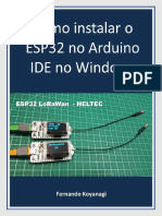 Como Instalar Esp32 ArduinoIDE Win