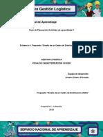 """Evidencia 4 Propuesta """"Diseño de Un Centro de Distribución (CEDI)"""""""