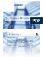 03 Persamaan Diferensial Orde II