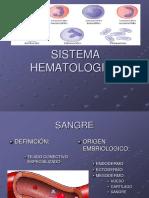Sistema Hematopoyetico fisiologia