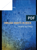 Drilled Shaft in Rock Analysis and Design_Part1