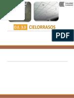 METRADOS ( CIELO RASO)