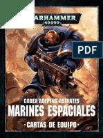 Codex ultramarines cartas de equipo