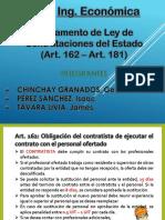 Ley de Contrataciones Art162-181