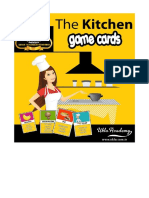 The Kitchen Game Cards