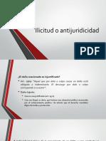 Derecho Civil Xi (Responsabilidad Civil) - Elementos Antijuricidad e Ilicitud