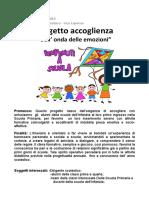 Accoglienza Classi Prime a.S. 2018 2019