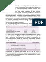 Inmunologia de la AR