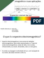 Espetro Eletromagnético e as Suas Aplicações 2