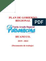 Movimiento Politico Frente Amplio Regional Paisanocuna
