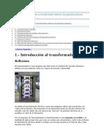 IEA_ME01.- Construcción de Un Transformador Eléctrico de Pequeña Potencia