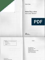 Fabián Casas - Horla City y otros. Toda la poesía 1990-2010