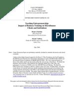 Karlan y Valdivia - Teaching Entrepreneurship (1)