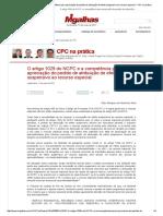 O Artigo 1029 Do NCPC e a Competência Para Apreciação Do Pedido de Atribuição de Efeito Suspensivo Ao Recurso Especial