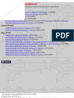 (RPG) Palladium - Rifts - Weapons & Equipment