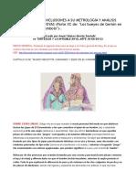 El Carambolo. Conclusiones a Su Metrología y Análisis Numérico de Sus Joyas. Conclusión a Los Anteriores Estudios y Análisis Del Tesoro 1ªy2ª