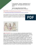 El Carambolo; Sus Colgantes -Efods, Kardiophylax o Frontiles