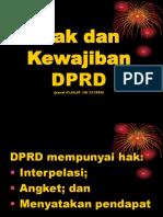 Hak dan Kewajiban DPRD.ppt