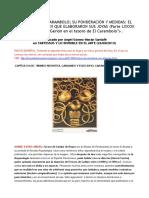 El Tesoro de El Carambolo; Su Ponderación y Medidas. El Patrón Sagrado en que Elaboraron Sus Joyas Parte 1ª y 2ª