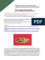 METROLOGÍA en EL MUNDO ANTIGUO. Sobre Ponderales y Modelos de Logitud; Hipótesis Peninsulares Prerromanas; Partes 1ª,2ª,3ª y 4ª