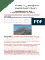 OMPHALOS, MERIDIANOS Y PARALELOS en LA ANTIGÜEDAD Los Santuarios Ibericos y Su Situación en El Grado 38,5º Norte