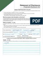 Nanaimo Municipal Election Candidate Financial Disclosures