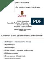 Apnea del Sueño y Enfermedad Cardiovascular