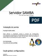 6 - Servidor SAMBA