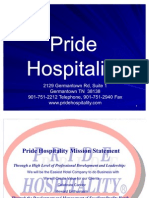 Pride Hospitality Power Point