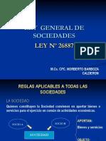Diapositivas- Nueva Ley General de Sociedades, Ley N_ 26887