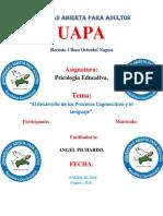 Tarea 2 Spicologia Educativa.