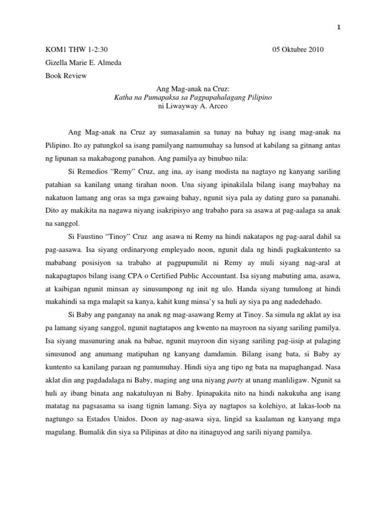 title ng thesis sa filipino