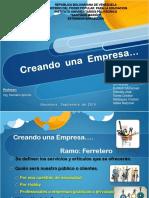 Presentacion Creacion de Una Empresa