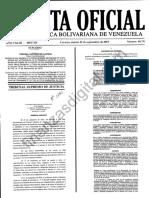 Vea La Gaceta 40751 TSJ Declara Constitucional Estado de Excepcion en Frontera